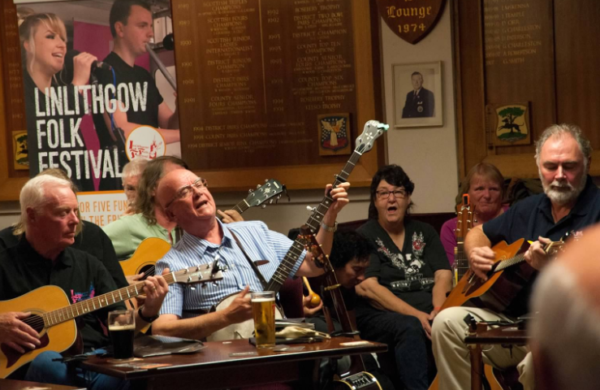 Linlithgow Folk Festival Group Session
