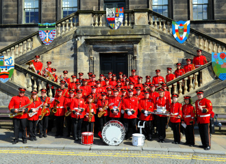 Reed Band At Linlithgow Marches 2012