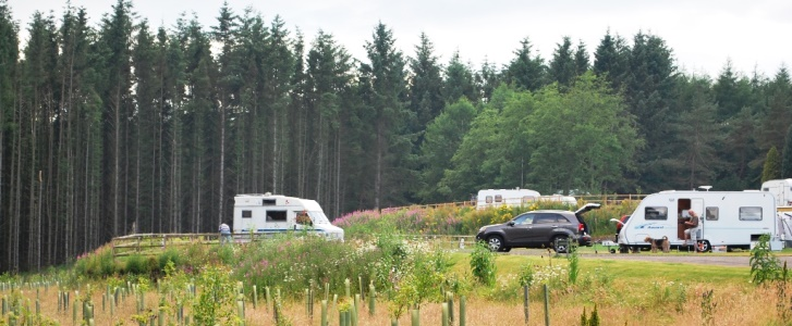 Beecraigs Caravan Site
