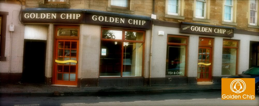 golden chip exterior