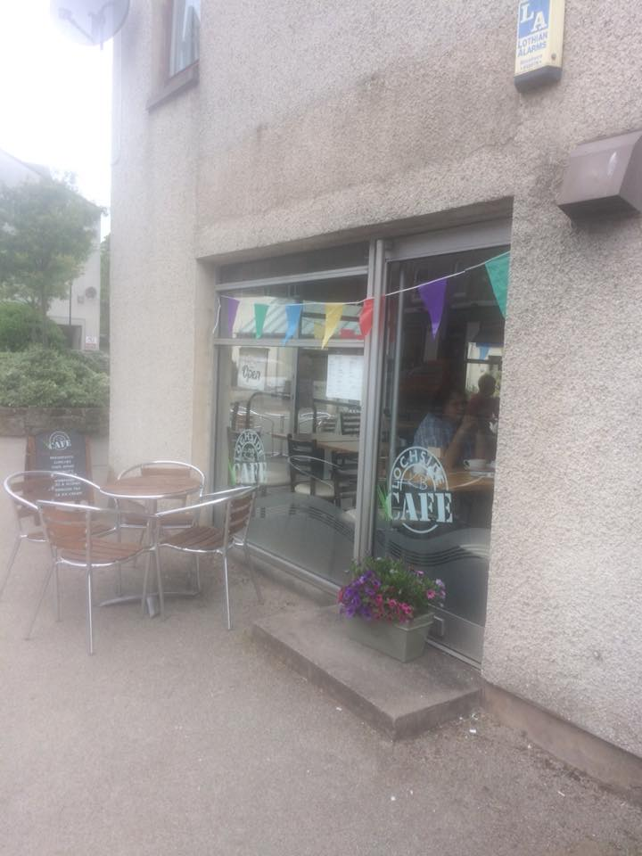 Lochside Cafe Exterior