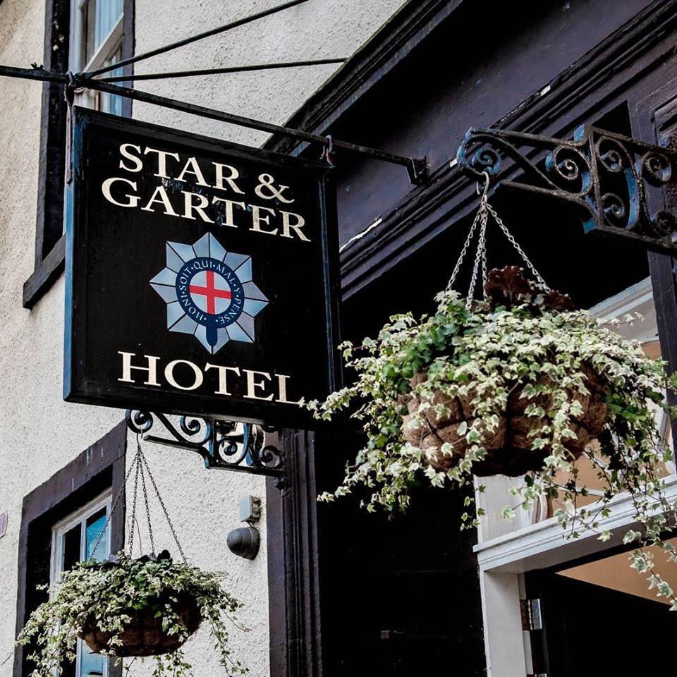 Star And Garter Logo Sign