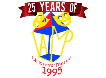 25 Years Of LAMP Children's Theatre Logo