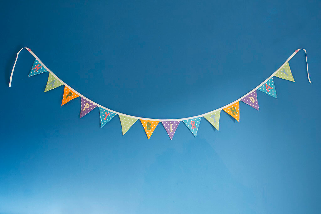 Badger Belle Party Bunting