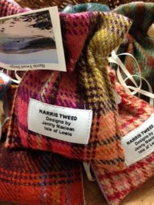 Crafted Merchant Harris Tweed Soap Pouches