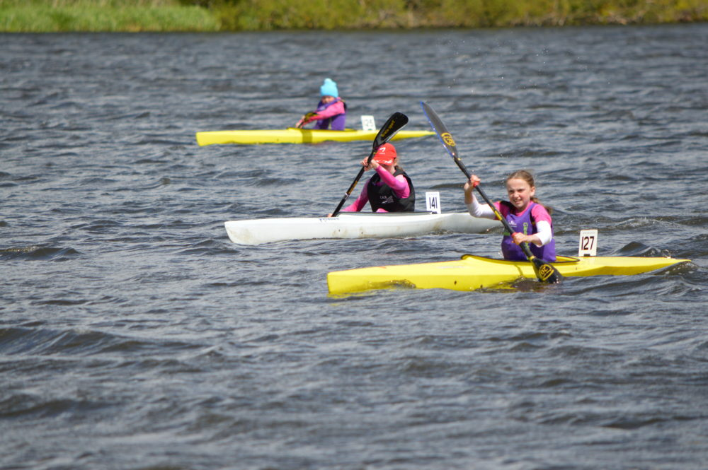 Kayak Racing On The Loch