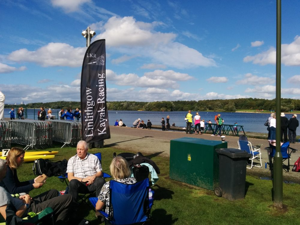 Linlithgow Kayak Racing Banner And Event