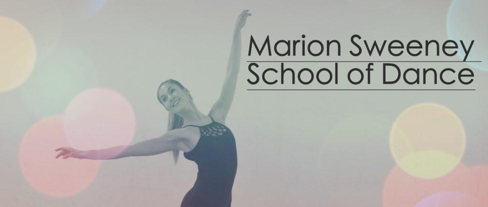 Marion Sweeney School of Dance Banner