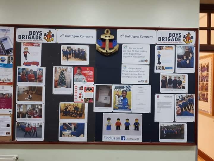 2nd Linlithgow Boys Brigadeoys brigade Wall Chart