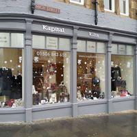 kapital kilts shop exterior