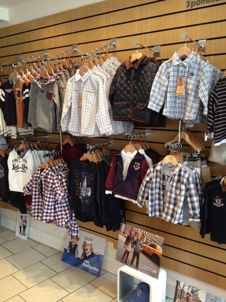 Little Beau Peep clothes display