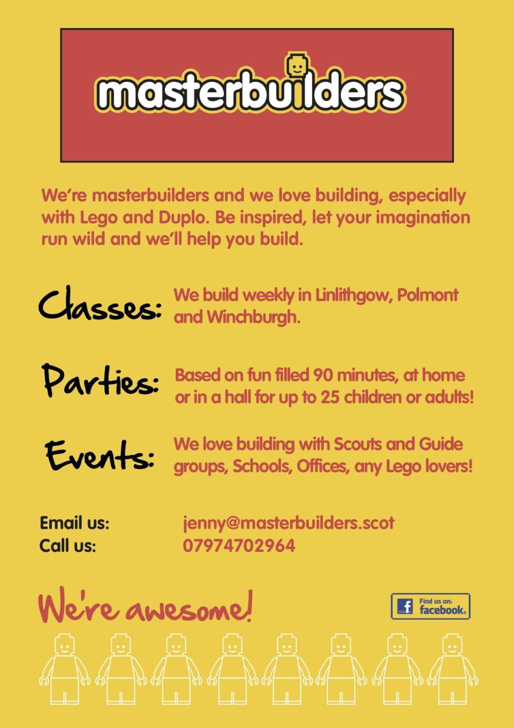 masterbuilders poster