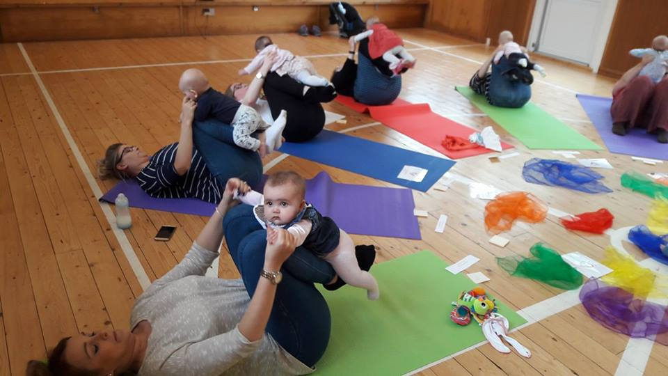 Parents And Baby Yoga