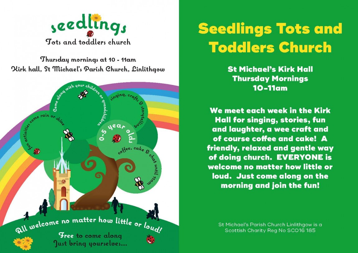 Seedlings Tots and Toddlers Church.