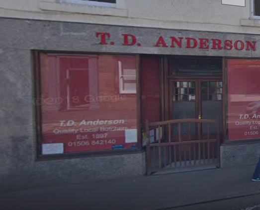T D Anderson Butcher Exterior