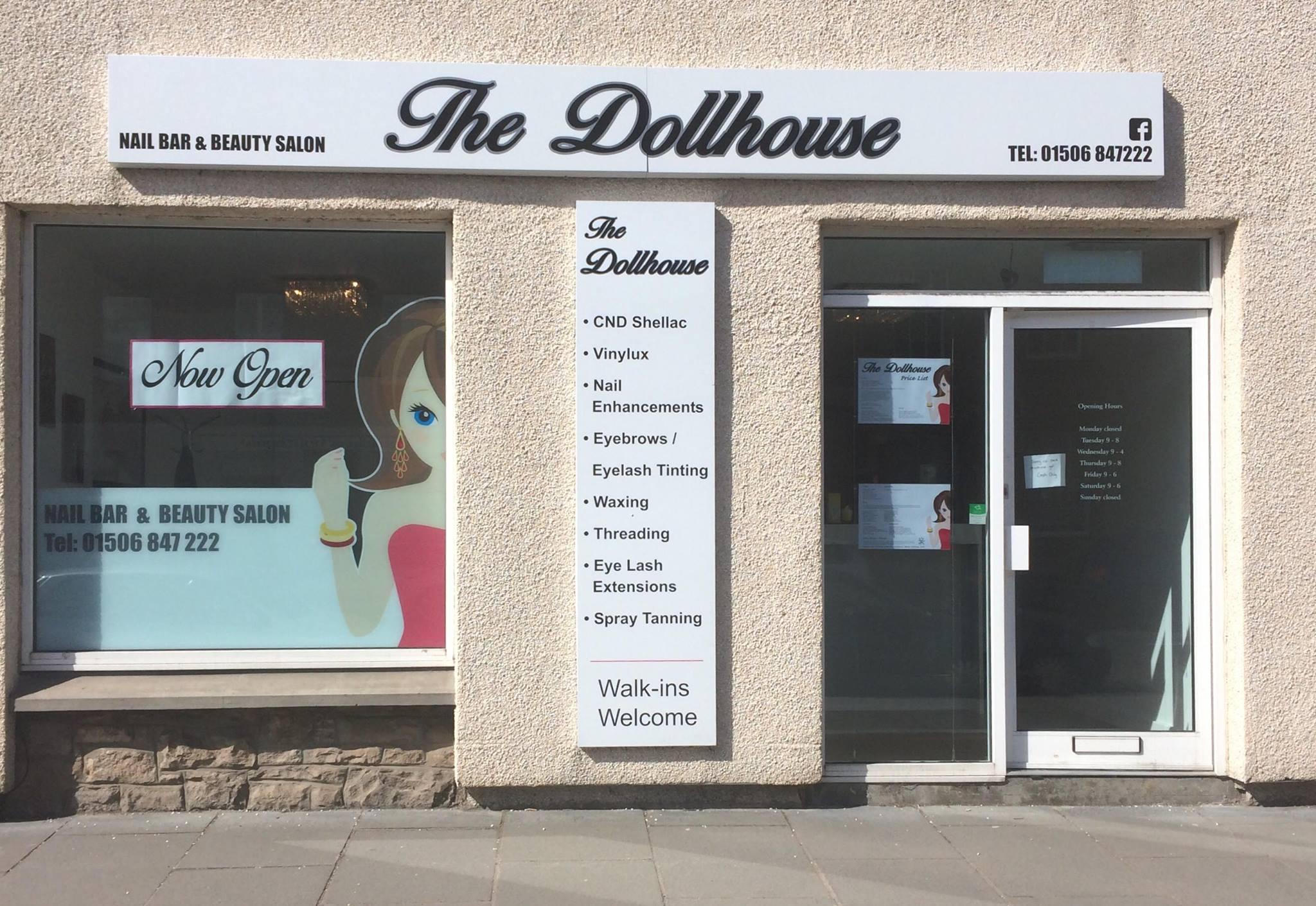 The Dollhouse Nail Bar & Beauty Salon - My Linlithgow