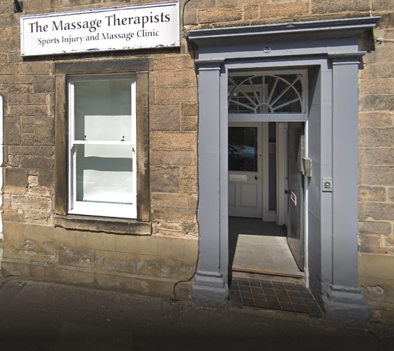 the massage therapists exterior