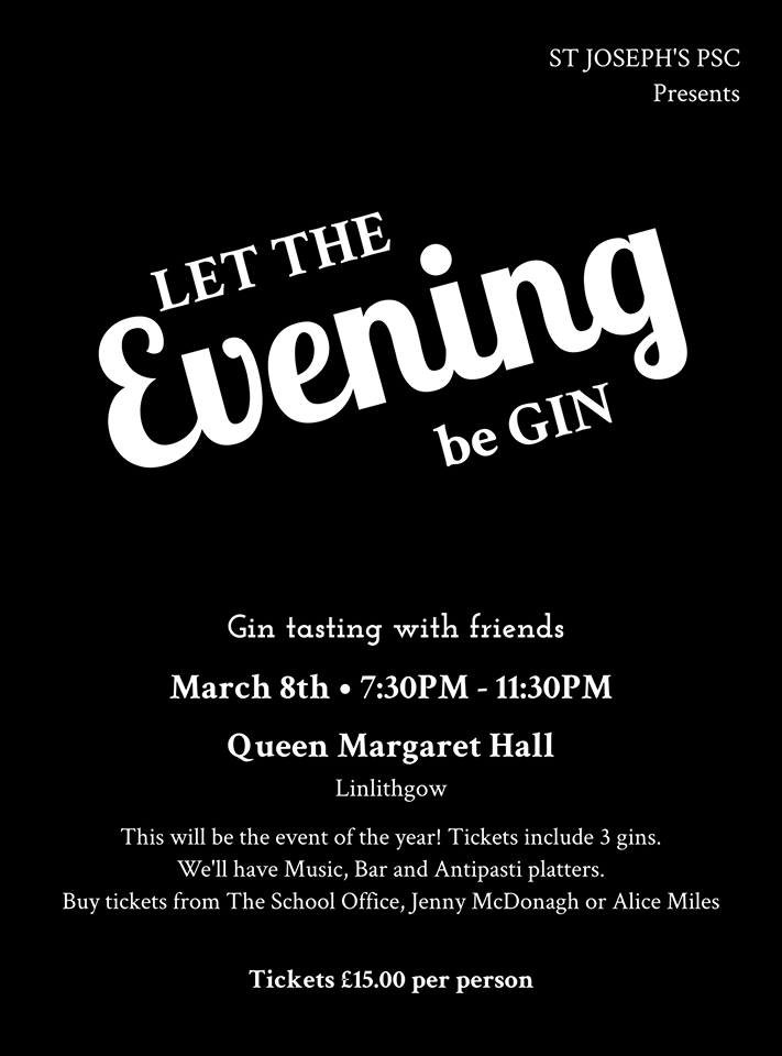 et the Evening be Gin poster