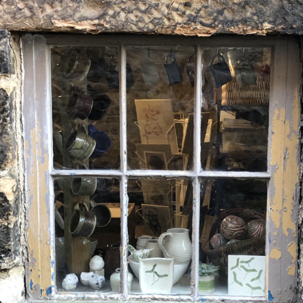 Linlithgow Pottery Shop Window