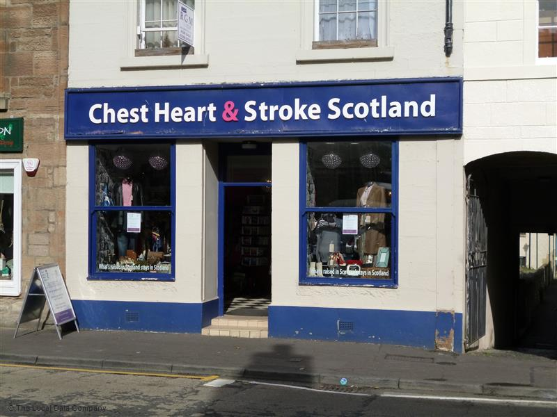 Chest Heart & Stroke  Scotland Exterior