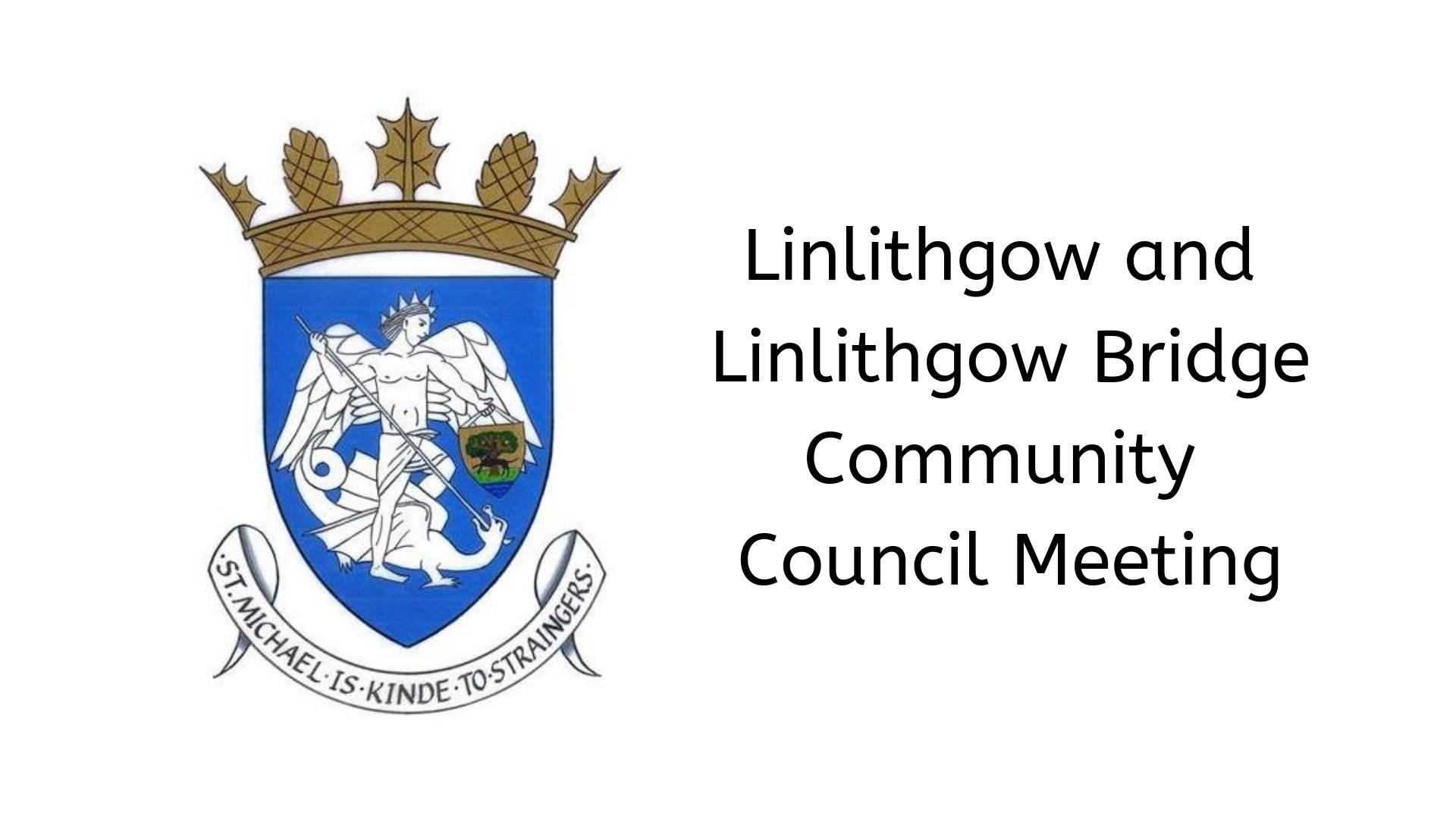 Community Council Meeting Logo