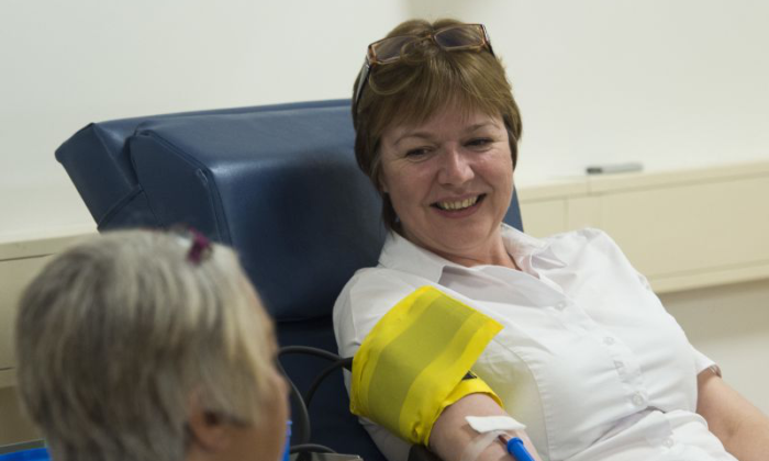 Giving Blood image