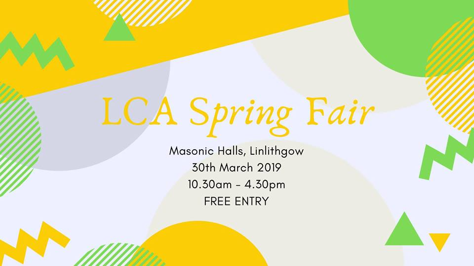 LCA Spring Fair Poster