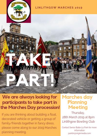 Marches Day Planning Meeting Poster