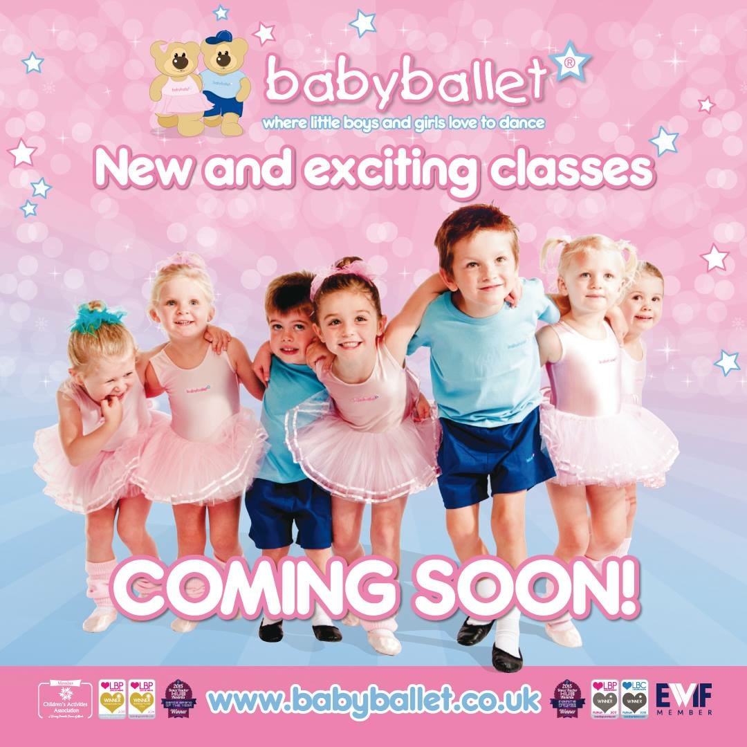 baby ballet poster