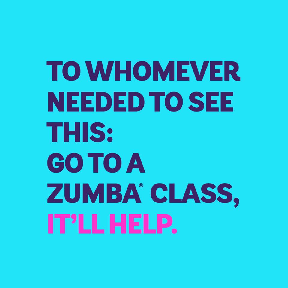 zumba class quote