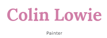 Colie Lowie Painter & Decorator