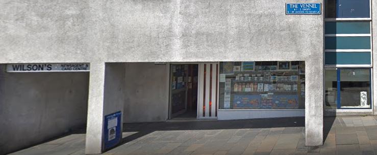 Wilson's Newsagents exterior