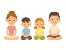 family mindfullness session