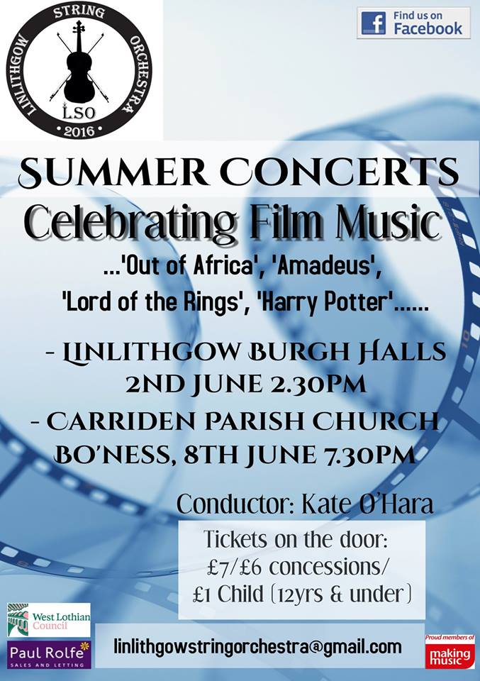 summer concerts poster