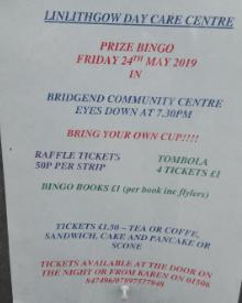 Day Care Centre Bingo Poster