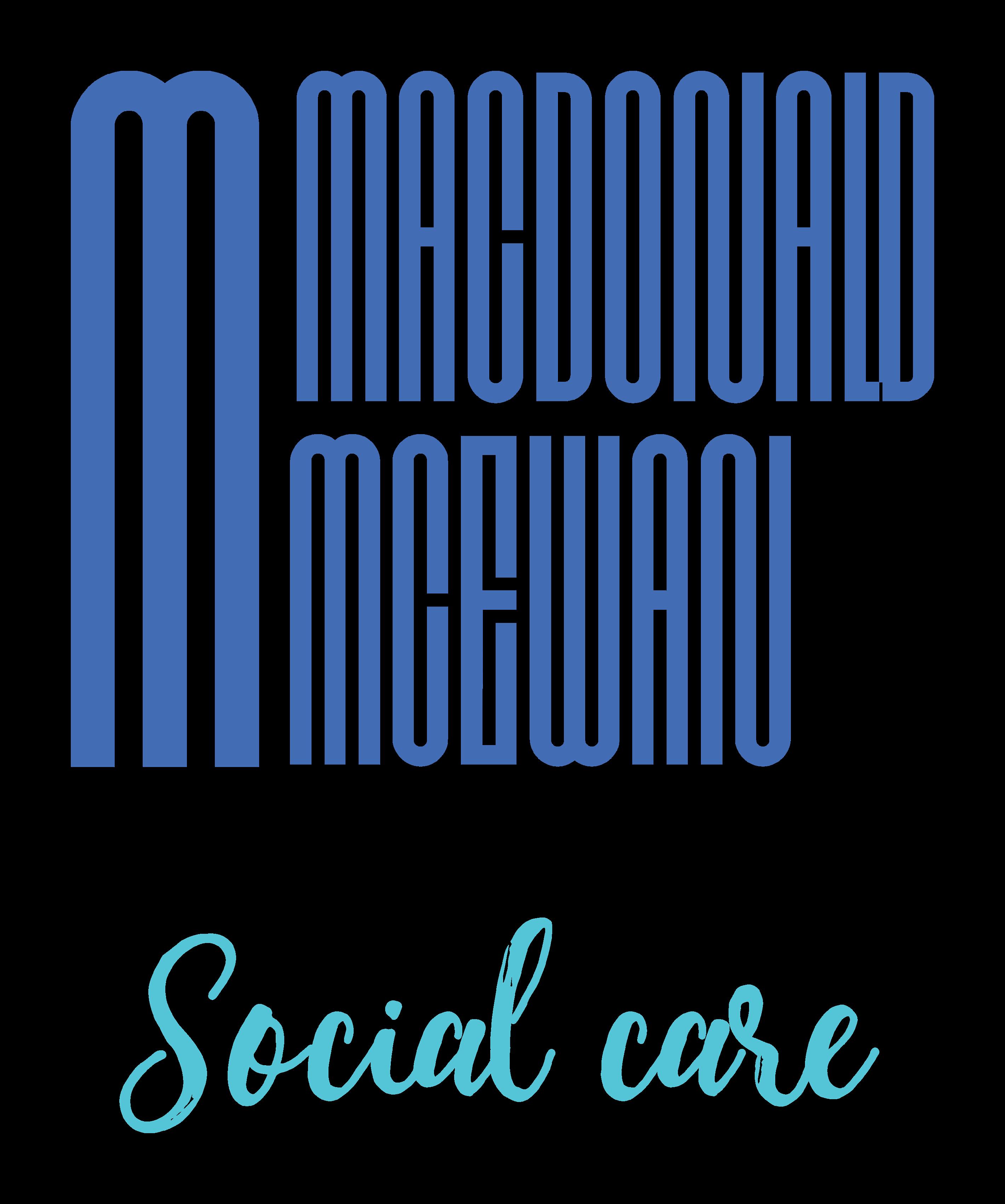 Macdonald Mcewan social care logo