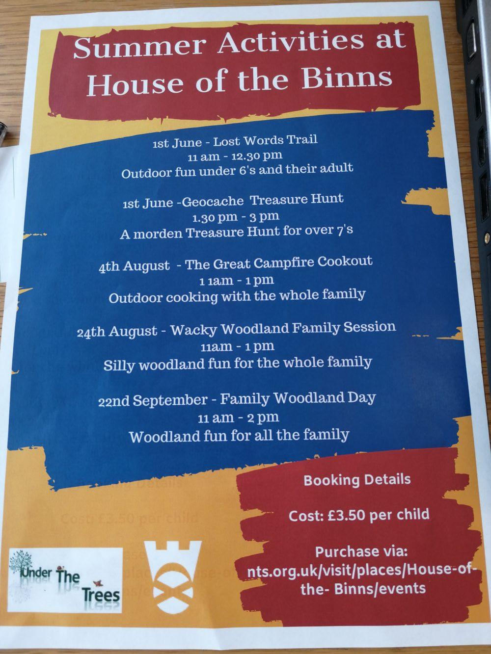 House of the Binns Summer Poster