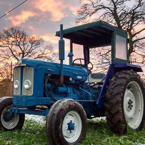 Narrowboat Farm Tractor
