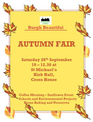Autumn Fair Poster