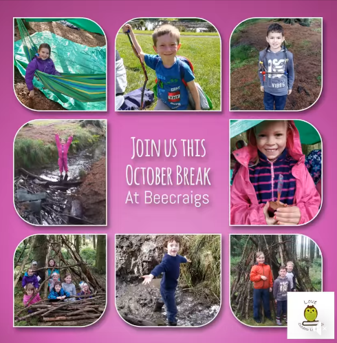 Beecraigs October Week Poster