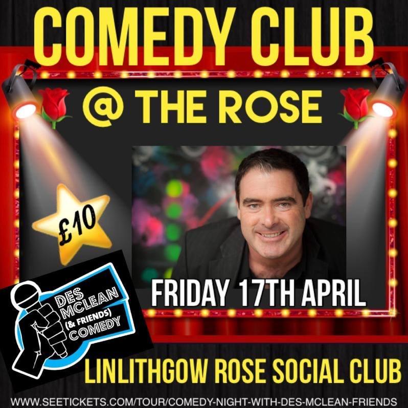 Des Mclean at Rose Social Club