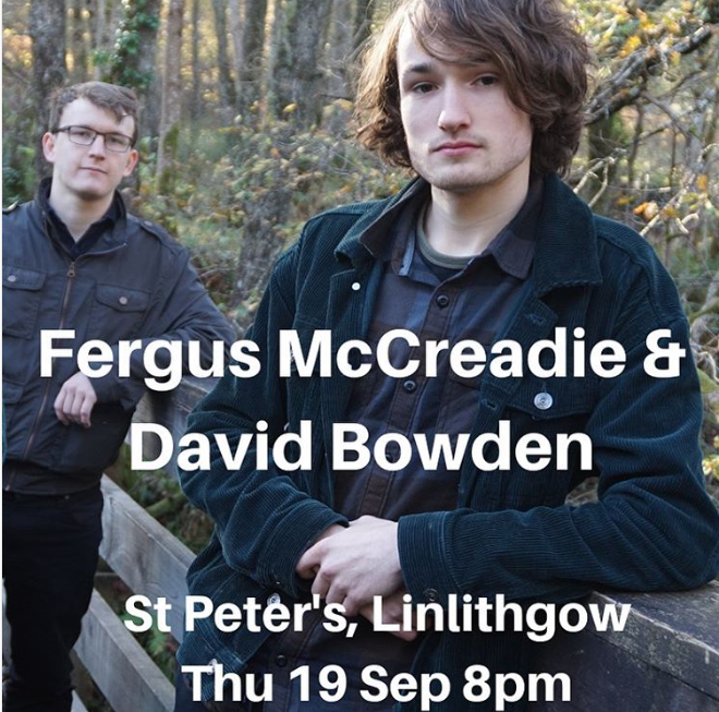 Fergus McCreadie And David Bowden