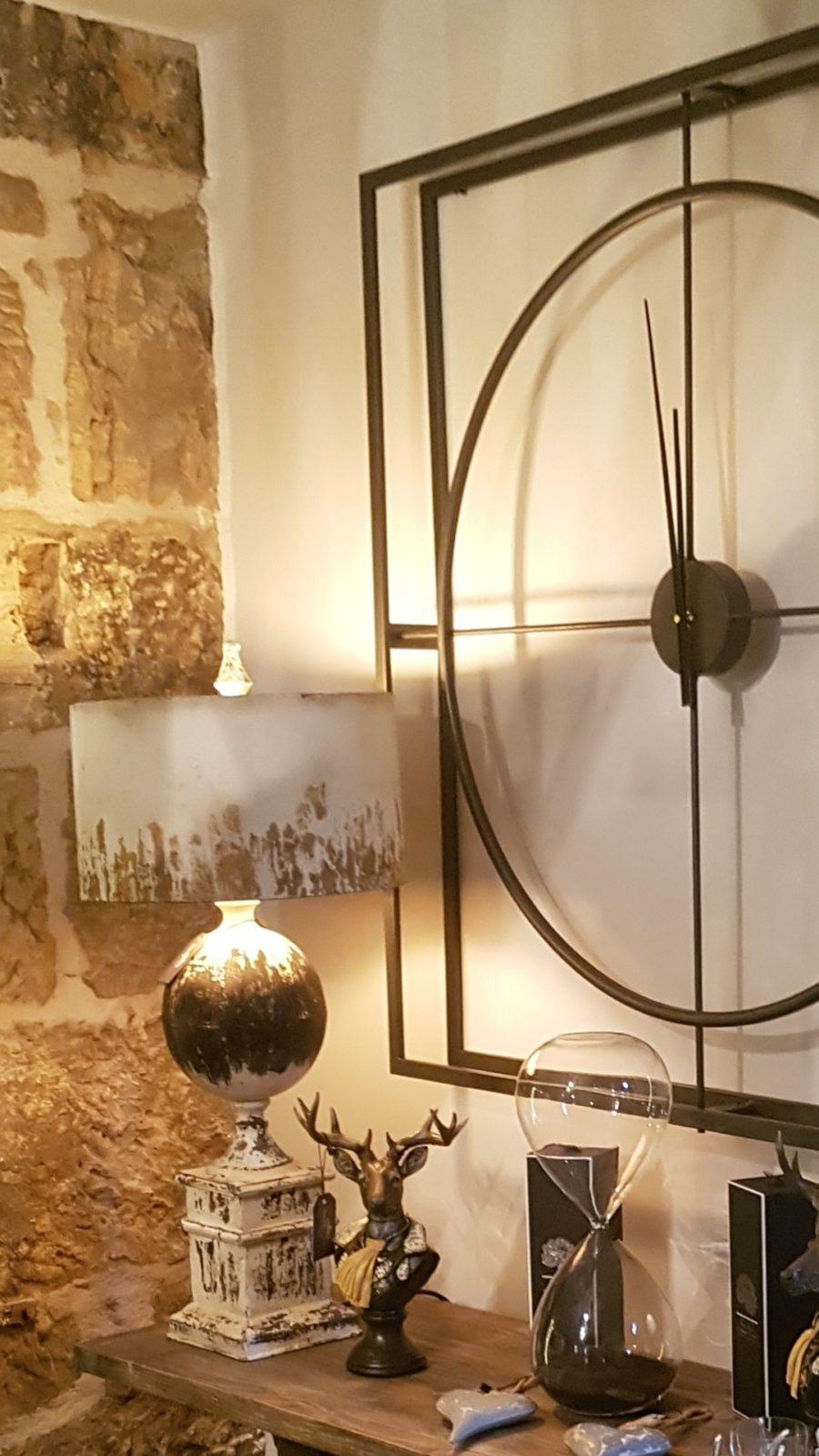 Lamps & Clock