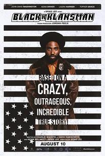 Blackklansman Film Poster
