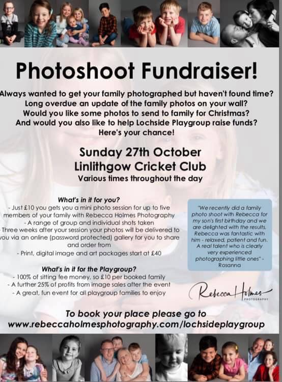 Photoshoot Fundraiser