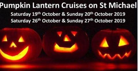 Pumpkin lantern cruises