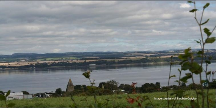 Photo looking out over the River Forth