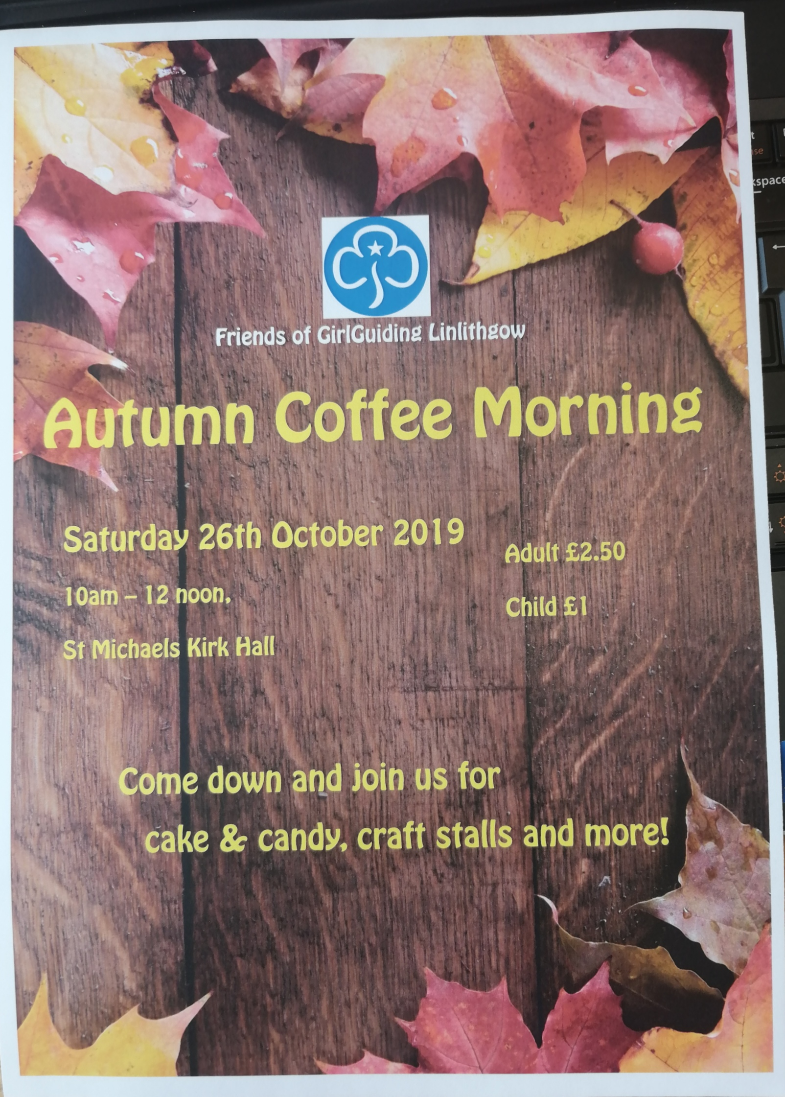 Autumn Coffee Morning