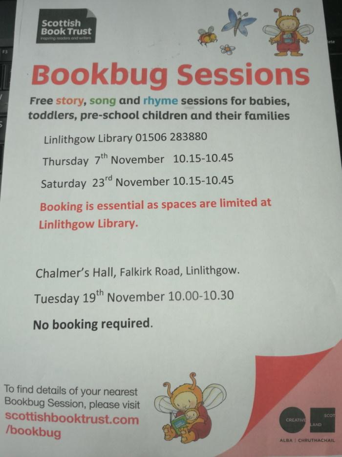 Bookbug Sessions