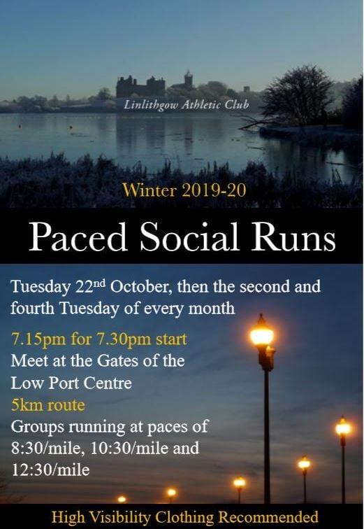 Paced Social Runs